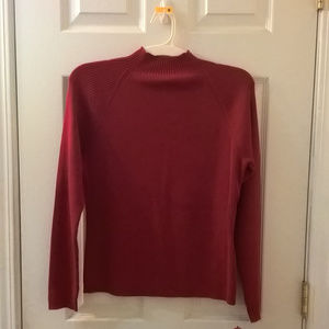 Relativity Quest Red Sweater Small NWT